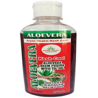 Aryanshakti Aloevera Kesh Cool Neem Pudina With Til Oil 250ml