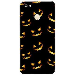 the latest 9588b b7639 Gionee M7 Power Back Hard Printed Case Cover by Cvanzi - Halloween Pumpkin  Smile Design