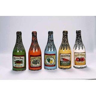 Designer ceramic bottle