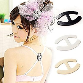Pack of 6 Bra Clip Cleavage Control and for Hiding Bra Straps