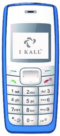 IKall K72 (Single Sim, 1.4 Inch Display, Vibration, BIS Certified, Blue)