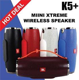 K5 Plus Mini Xtreme High Bass Portable Bluetooth Speakers