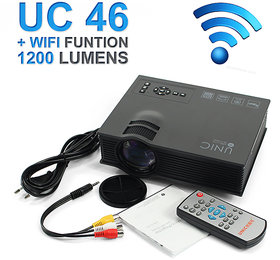 Original UNIC UC46 LED Wifi Projector HD 1080p-HDMI/SDC