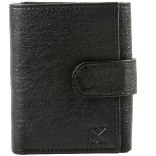 Styler King Men Black Artificial Leather Wallet