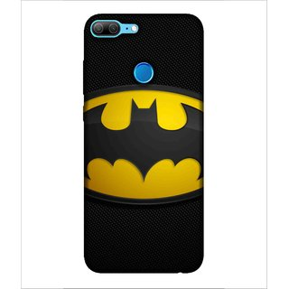 Printed Cover warrior ( super hero, black mask, bat, man with super power) Printed Designer Back Case Cover for Huawei Honor 9 Lite