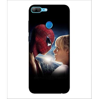 Printed Cover warrior ( super hero, red mask, spider, man with super power, lovers) Printed Designer Back Case Cover for Huawei Honor 9 Lite