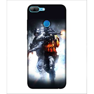 Printed Cover warrior ( super hero, cops in action, cops with weapons) Printed Designer Back Case Cover for Huawei Honor 9 Lite