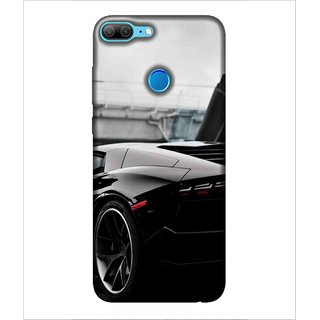 Printed Cover Black car ( car for men, car for women, classy car, trendy car, luxury car) Printed Designer Back Case Cover for Huawei Honor 9 Lite