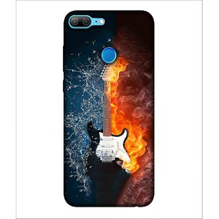 Printed Cover Guitar ( music instrument, music lover, beautiful picture) Printed Designer Back Case Cover for Huawei Honor 9 Lite