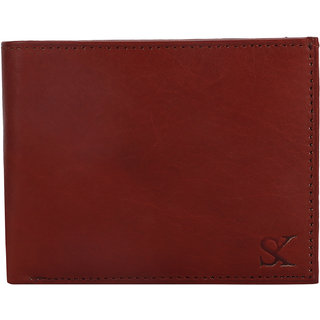 STYLER KING Tan Genuine Leather Wallet for Men