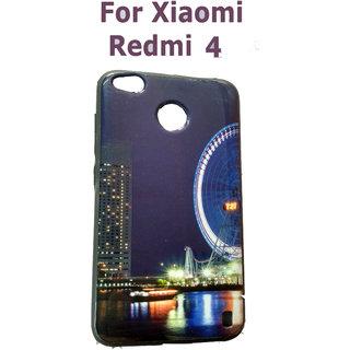 Redmi 4 Rubber Soft Back Cover