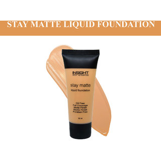 Insight Caramel STAY MATTE LIQUID FOUNDATION-df9754