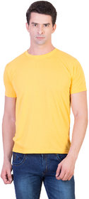 Kristof Men's Yellow T-shirt