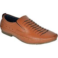 Handcraft Shoe Tan Roman Sandals For Men