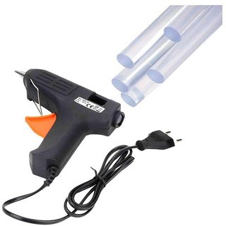 Electric Glue Gun + 5 pcs Glue Gun Sticks
