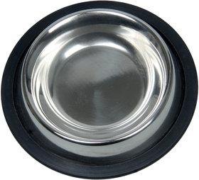 Royal Sapphire Material Stainless Steel Dog Feeding Bowl (200Ml)