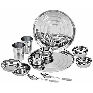Royal sapphire stainless steel dinner set 12 pcs buy for Kitchen set royal
