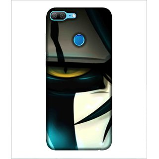 For Huawei Honor 9 Lite Car, Black, Sports Car, Amazing Pattern,  Printed Designer Back Case Cover By Human Enterprise