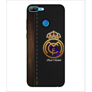 For Huawei Honor 9 Lite Crown, Black, Sports crown,  Printed Designer Back Case Cover By Human Enterprise