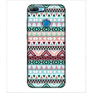For Huawei Honor 9 Lite Pattern, Multicolor, nice pattern, Great pattern,  Printed Designer Back Case Cover By Human Enterprise