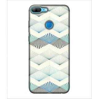 For Huawei Honor 9 Lite Pattern, White, White Pattern, Lovely pattern,  Printed Designer Back Case Cover By Human Enterprise
