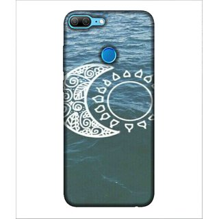 For Huawei Honor 9 Lite Ocean Pattern, Blue, Water, Beautiful Pattern,  Printed Designer Back Case Cover By Human Enterprise