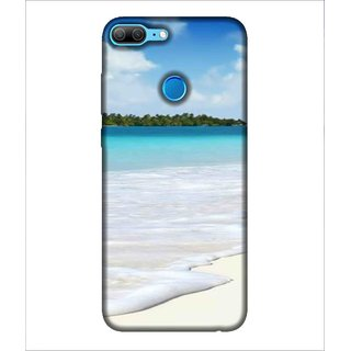 For Huawei Honor 9 Lite Beach, Blue, Water, Ocean,  Printed Designer Back Case Cover By Human Enterprise