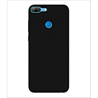 For Huawei Honor 9 Lite Dotted Pattern, Black, Dotted Pattern, Amazing Pattern,  Printed Designer Back Case Cover By Human Enterprise