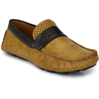 Prolific Mens Tan Casual shoes