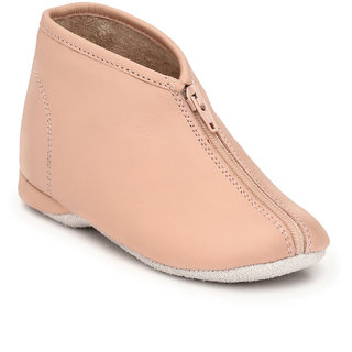 Hirels Pink Kids Zipper Shoes