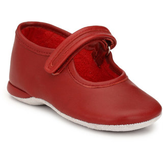 Hirels Red Kids Velcro Shoes