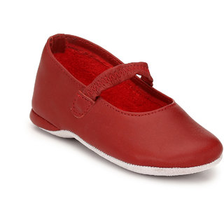 Hirels Red Kids Elastic Shoes