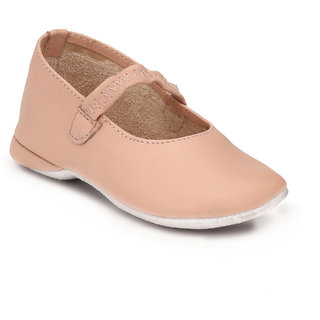 Hirels Pink Kids Elastic Shoes