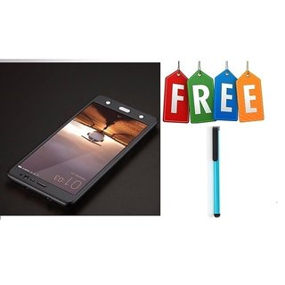 Vivo V3 360 Degree Cover With Tempered Glass With Free Stylus - Black  - Super Value Combo Offer
