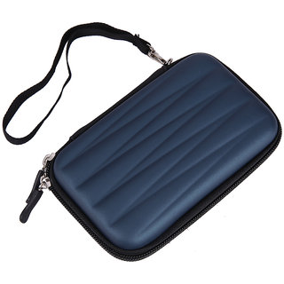 frndzmart Blue Wave 2.5 Inch External Hard Disk Cover (For Toshiba, WD, Sony, HP and Transcend 2.5 inch External HD
