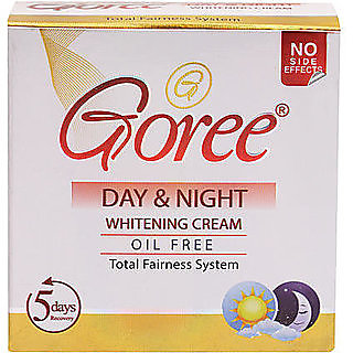 GOREE DAY NIGHT WHITENING CREAM (OIL FREE / WHOLESALE RATE PACK).