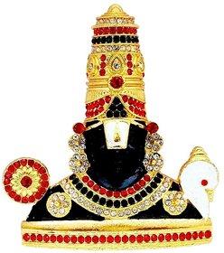 setnacreations Lord Tirupati Balaji Venkatesh Idol for Car Dashboard Home Gift God Idol