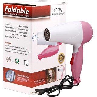 Innova Best Quality 1000Watt Hair Dryer In Best price (Blue Pink)