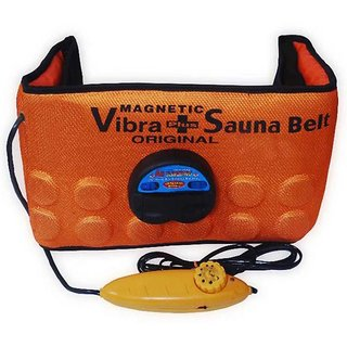 Sauna Slimming Belt 3 in 1 Magnetic Vibration Heating ,Vibrating Magnetic Slimming Belt Adjestable StyleCode-G1