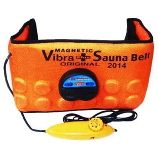 Battlestar 3 IN 1 Vibrating Sauna Belt Fat Cutter & Fat Burner Adjustable Code-H35