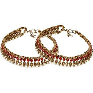 Jewels Gehna Alloy Party Wear Stylish Fancy Anklet For Women  Girls