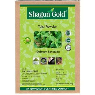 Shagun Gold 100 percent Natural Tulsi Leaves Powder (Pack Of 2) 400Gm