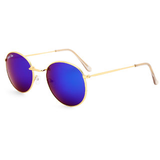 489bd3e23eb Royal Son UV Protected Round Sunglasses For Men and Women (RS001RD