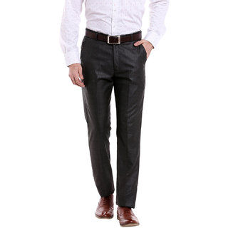 Solemio Mens Poly viscose Trouser