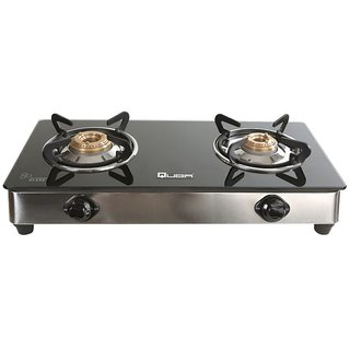Quba Polo II Ss 2 Burner Manual Gas Stove