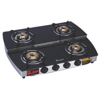 Quba S4 DUPLEX 4 Burner Manual Gas Stove