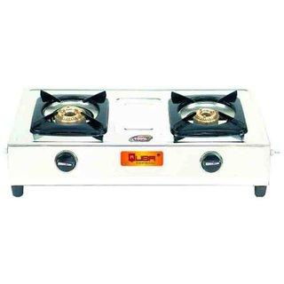 Quba Polo II Stainless Steel SG-102 2 Burner Manual Gas Stove