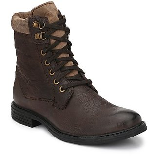 Delize MensGenuine Leather Brown Boots