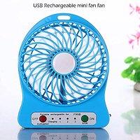Sketchfab Portable Mini Usb Fan Rechargeable Battery Op