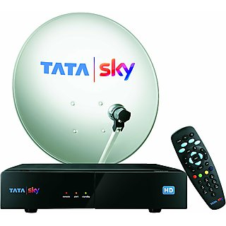 Tata Sky HD Box with 1 Year Dhamaka 199 Pack + 1 Year HD Access